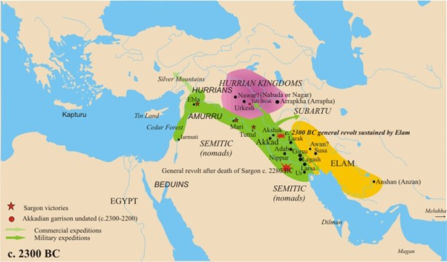 the-empire-of-sargon-late-24th-century-bc