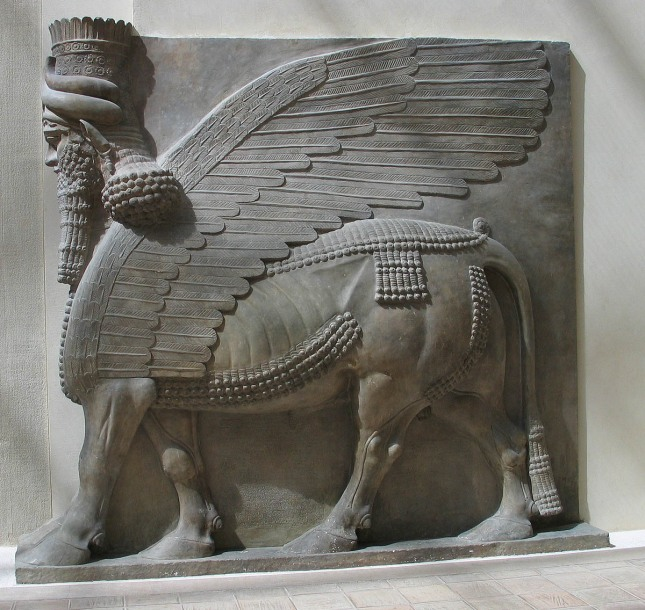 Sargon II's palace, Dur-Sharrukin, Assyria, 721-705 BC