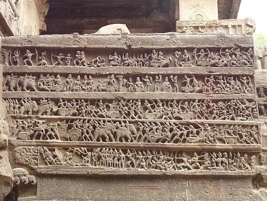 Ramayana Carving