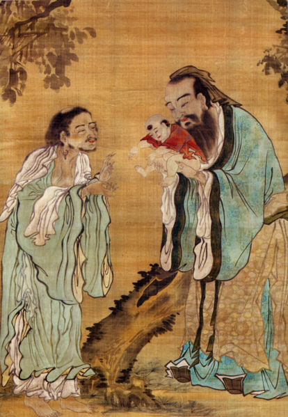 Confucius, Lao-tzu, and Buddha